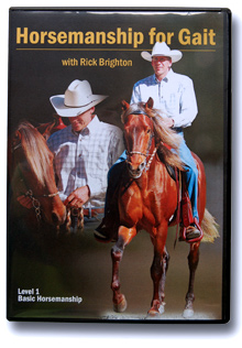 Horsemanship for Gait with Rick Brighton DVD