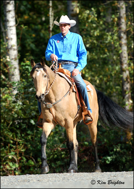 Rick Brighton, Gaited Horse Trainer, Clinican, and Instructor